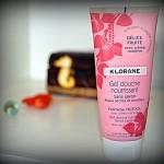 Питающий кожу гель-крем для душа без мыла Klorane «Delice Fruite»
