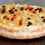 Веганский морковный торт с орехами кешью. Просто, вкусно и очень полезно.