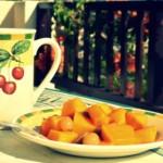 Тыква с фруктами из духовки. Съесть, чтобы похудеть.
