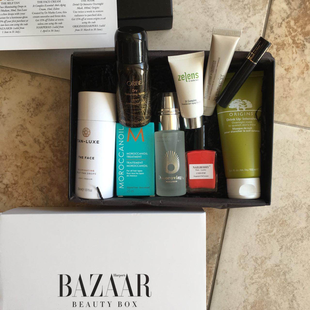 latest in beauty box harpers bazaar